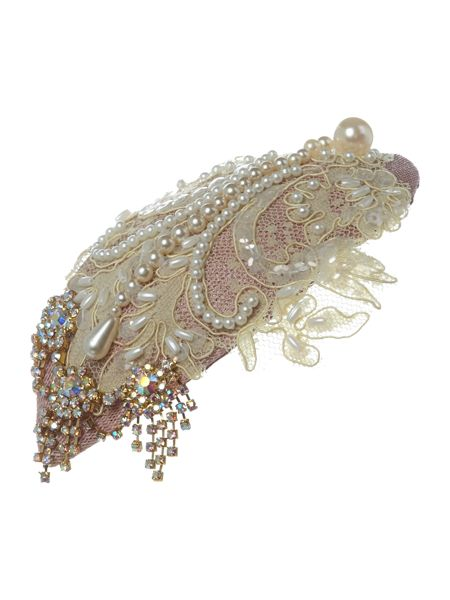 Her Curious Nature Pearl embellished tear drop headband