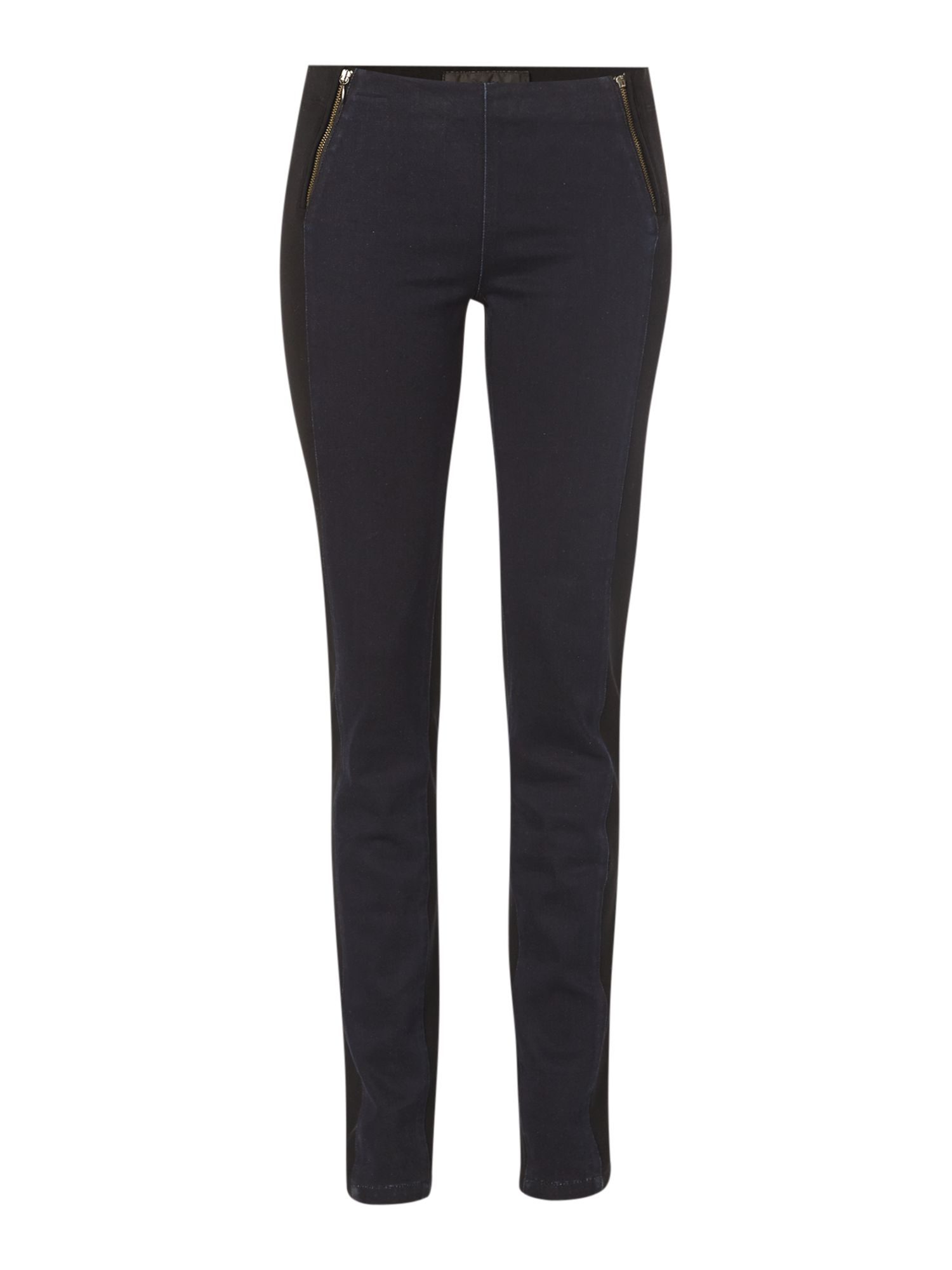 Skinny jegging with zip detail