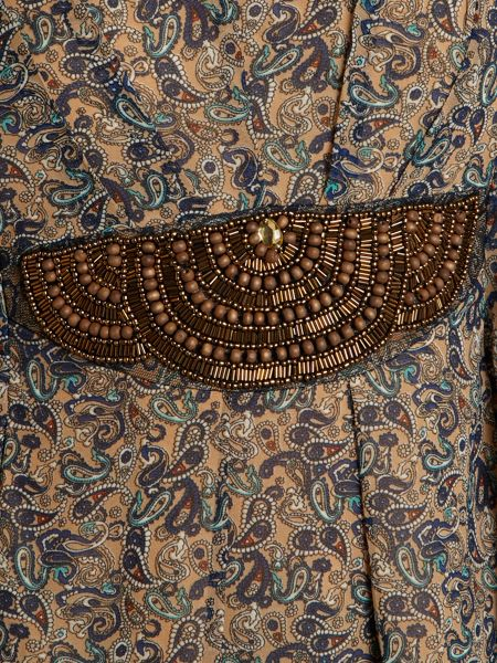 Izabel London Ditsy paisley print top