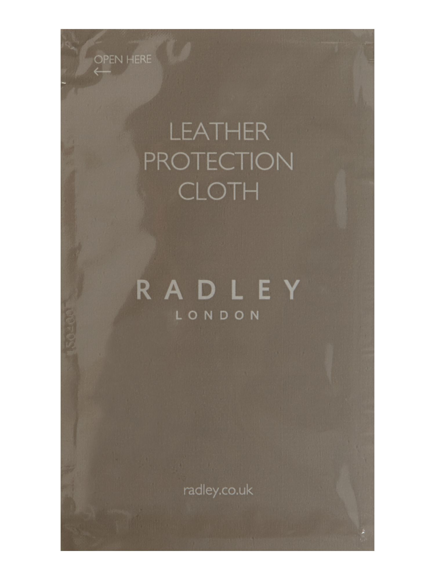 Leather care cloth