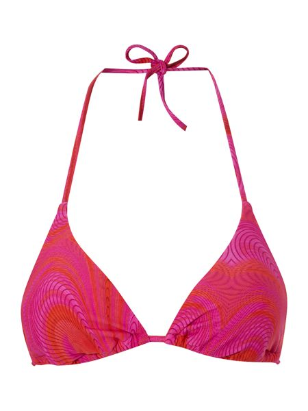 Ted Baker Over wrap triangle bikini top