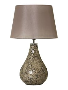 Zara mocha table lamp