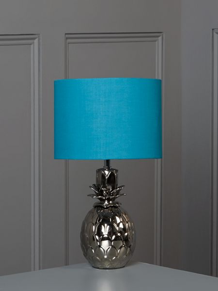 Linea Pineapple table lamp - teal