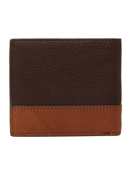 Ted Baker Leather Bifold Coin Wallet