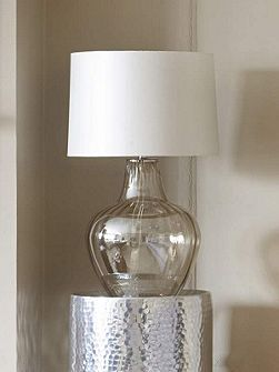 Roma glass table lamp