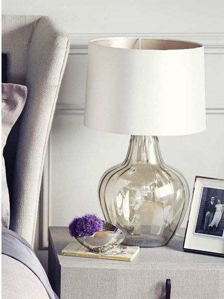 Casa Couture Roma glass table lamp