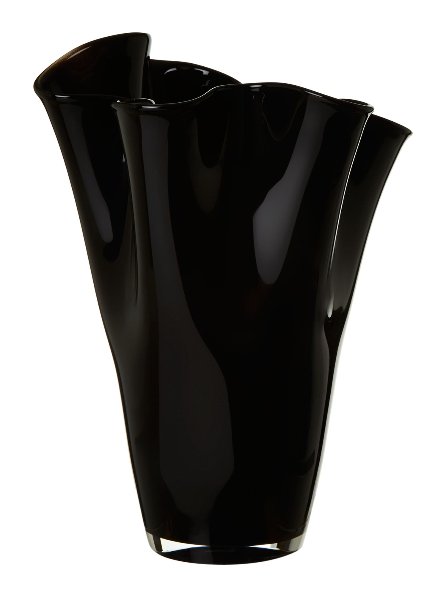 Handkerchief vase, Black