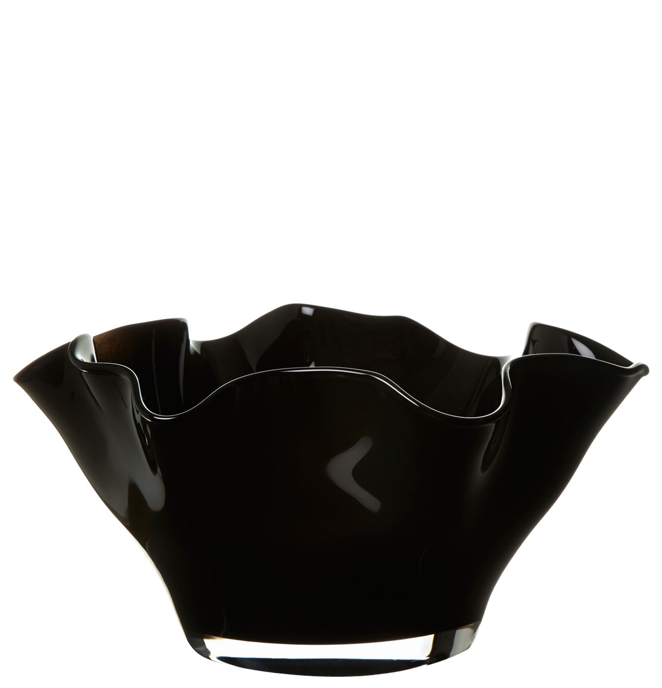 Handkerchief bowl, black