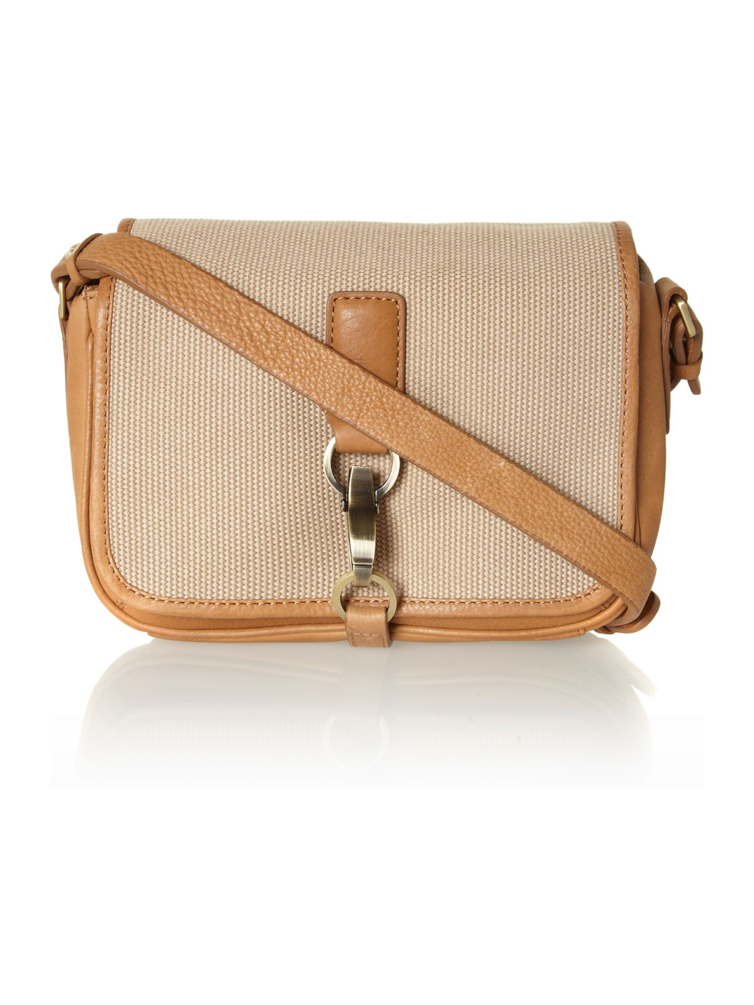Laura bailey medium cross body flap over bag