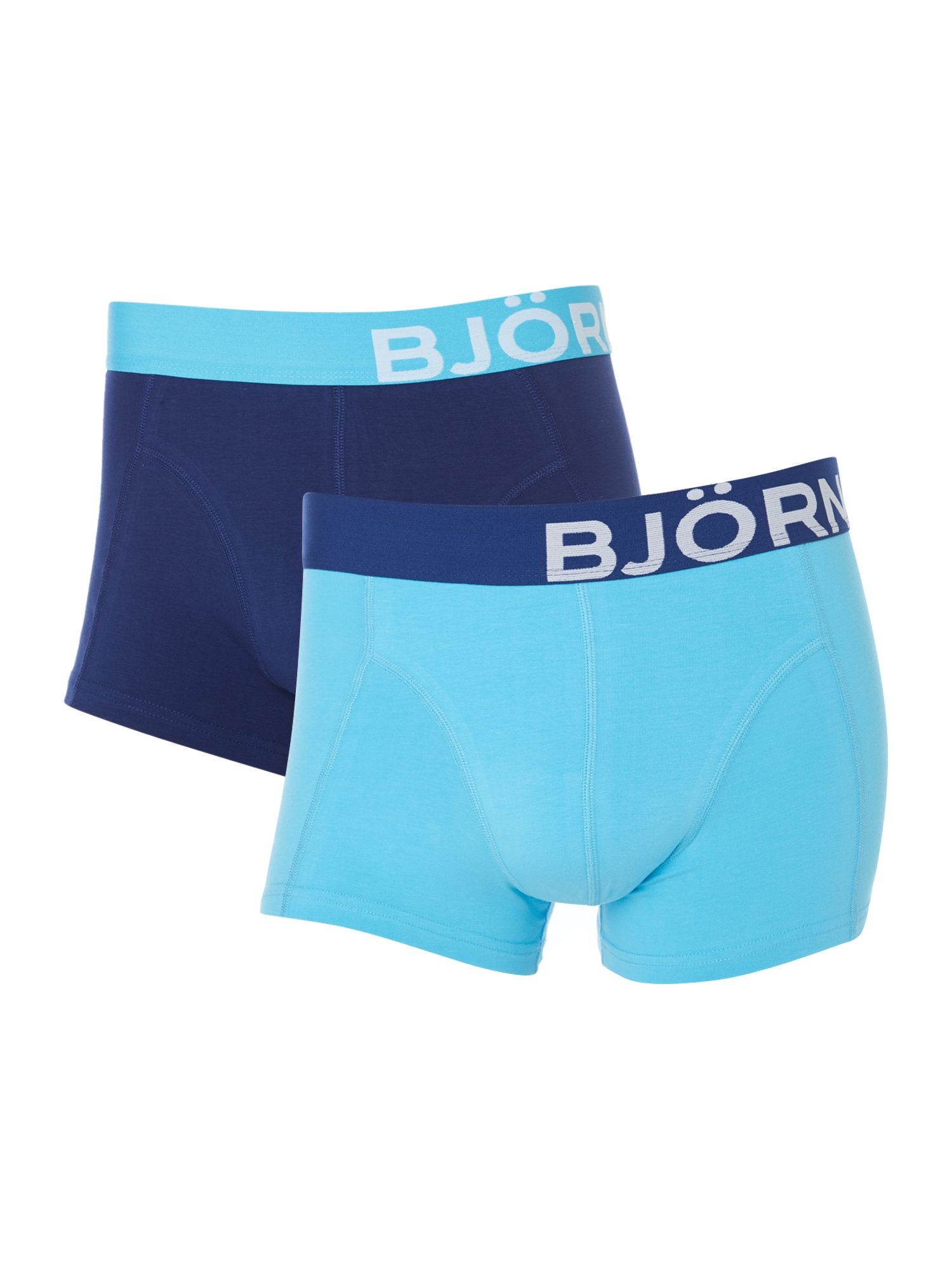 2 pack running solid underwear trunk