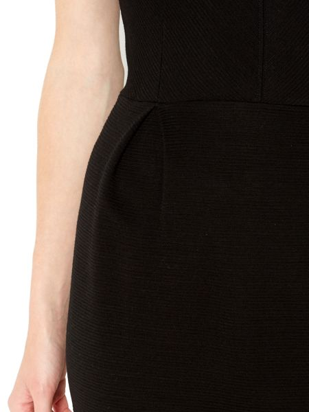 Therapy Textured Tulip Bodycon Dress