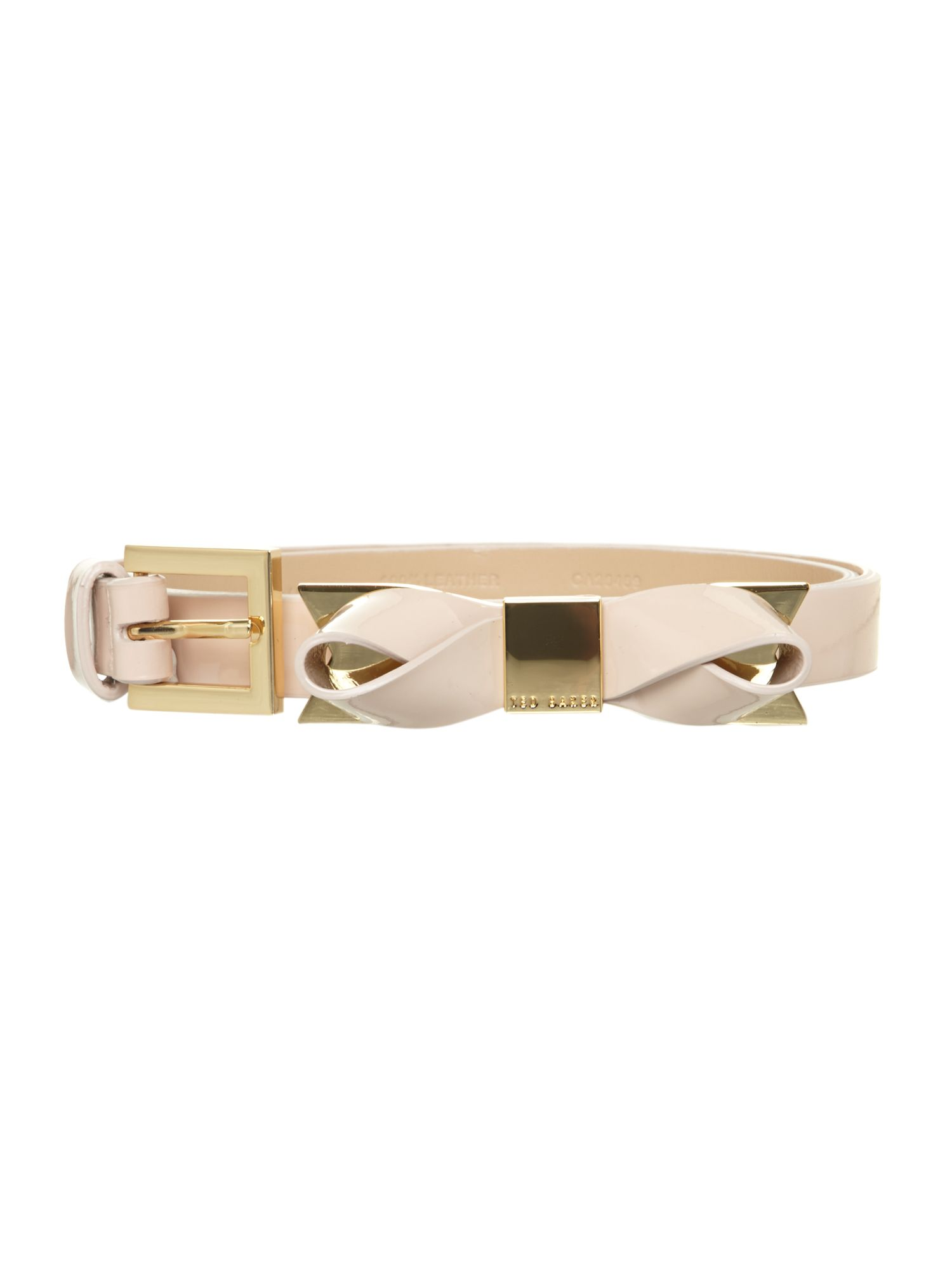 Patent bow belt