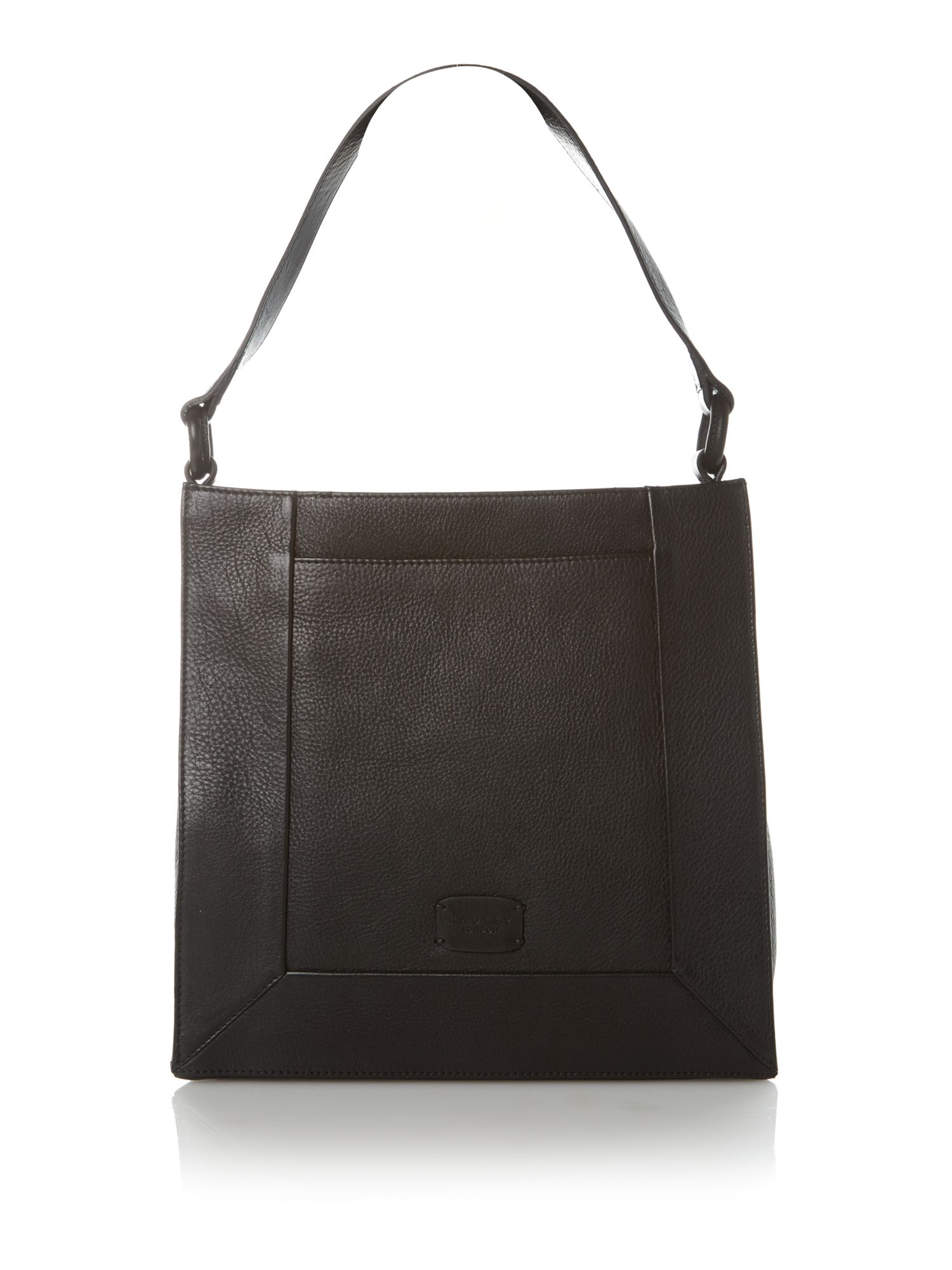 Border medium shoulder bag