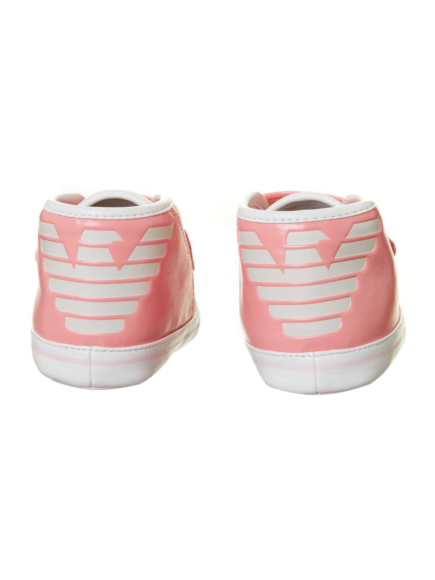 Girl`s logo trainers