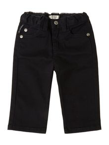 Boys 5 pocket gaberdine trousers