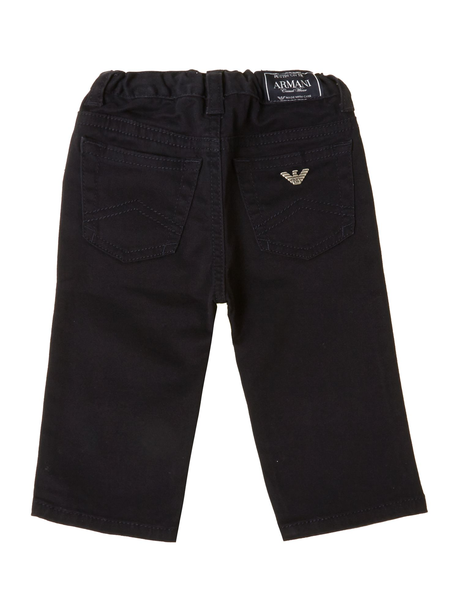 Boy`s 5 pocket gaberdine trousers