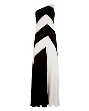 Ted Baker Stripe Maxi Dress