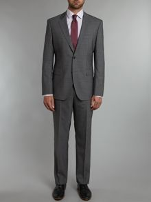 Hugo Boss Keys shaft regular fit textured stretch suit