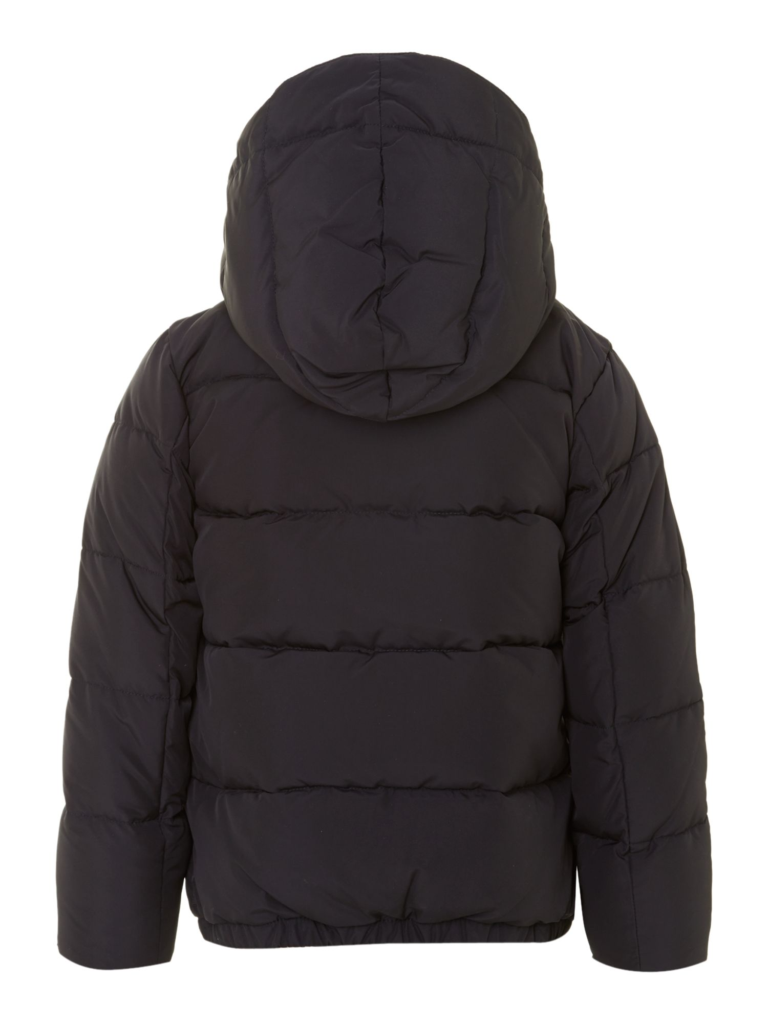 Boy`s padded coat with detachable hood