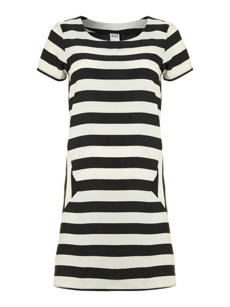 Vero Moda Jocel Stripy short sleeved dress