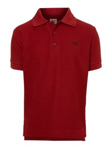 Boy`s short-sleeved classic polo shirt