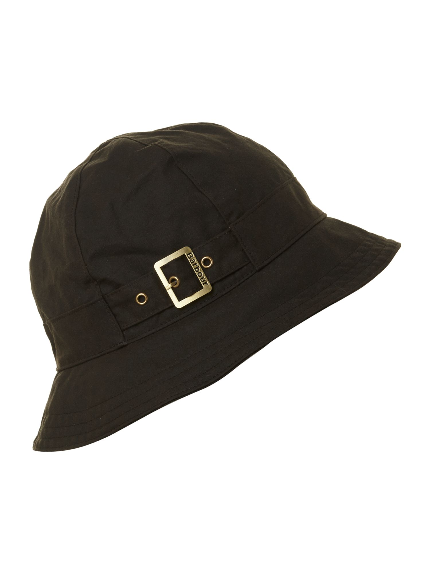Wax trench hat