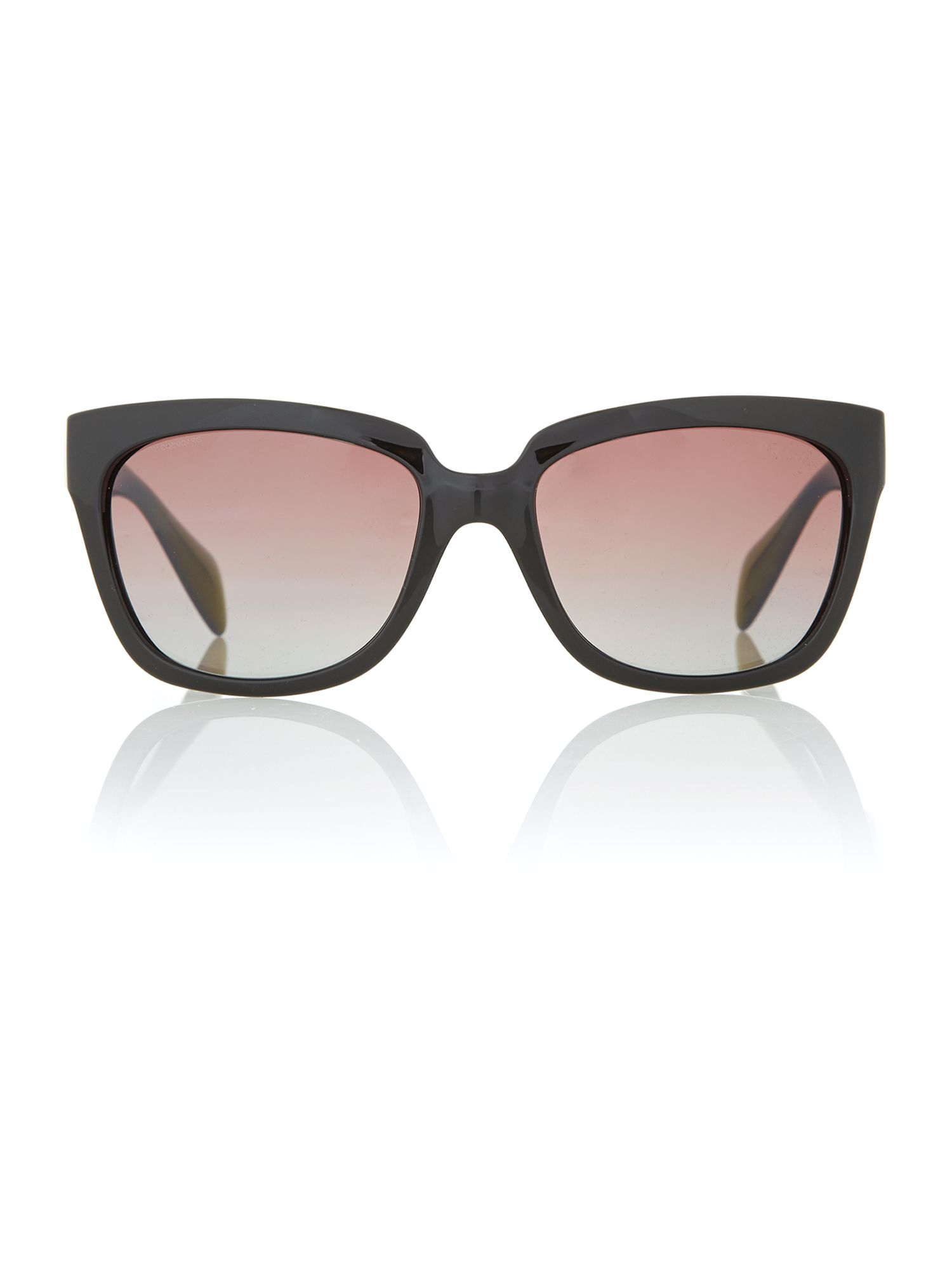 Ladies Black Sqaure Sunglasses