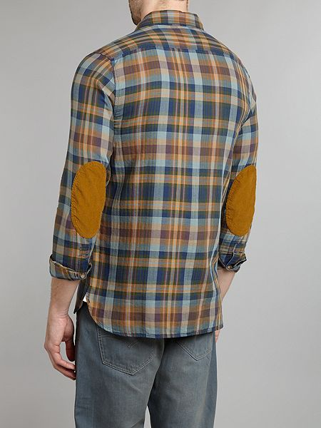 Levi s elbow patch shirt house of fraser