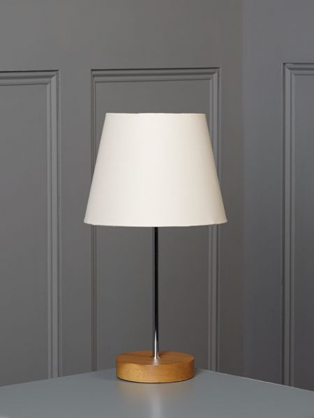 Linea Woody table lamp ivory
