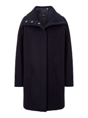Weekend MaxMara Funnel Neck Coat