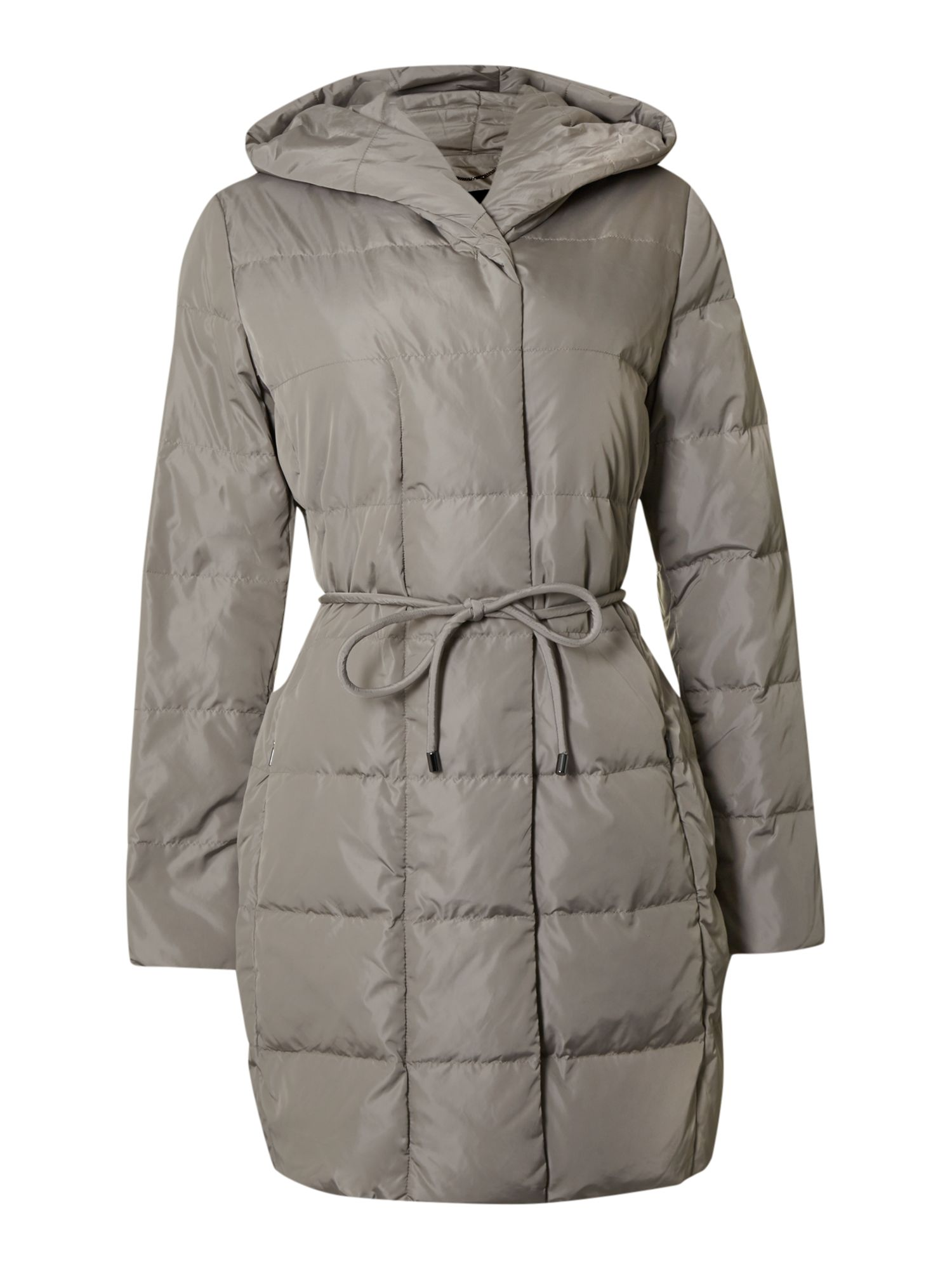 Aire padded coat with hood