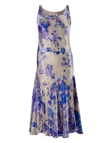 Chesca Floral border print dress
