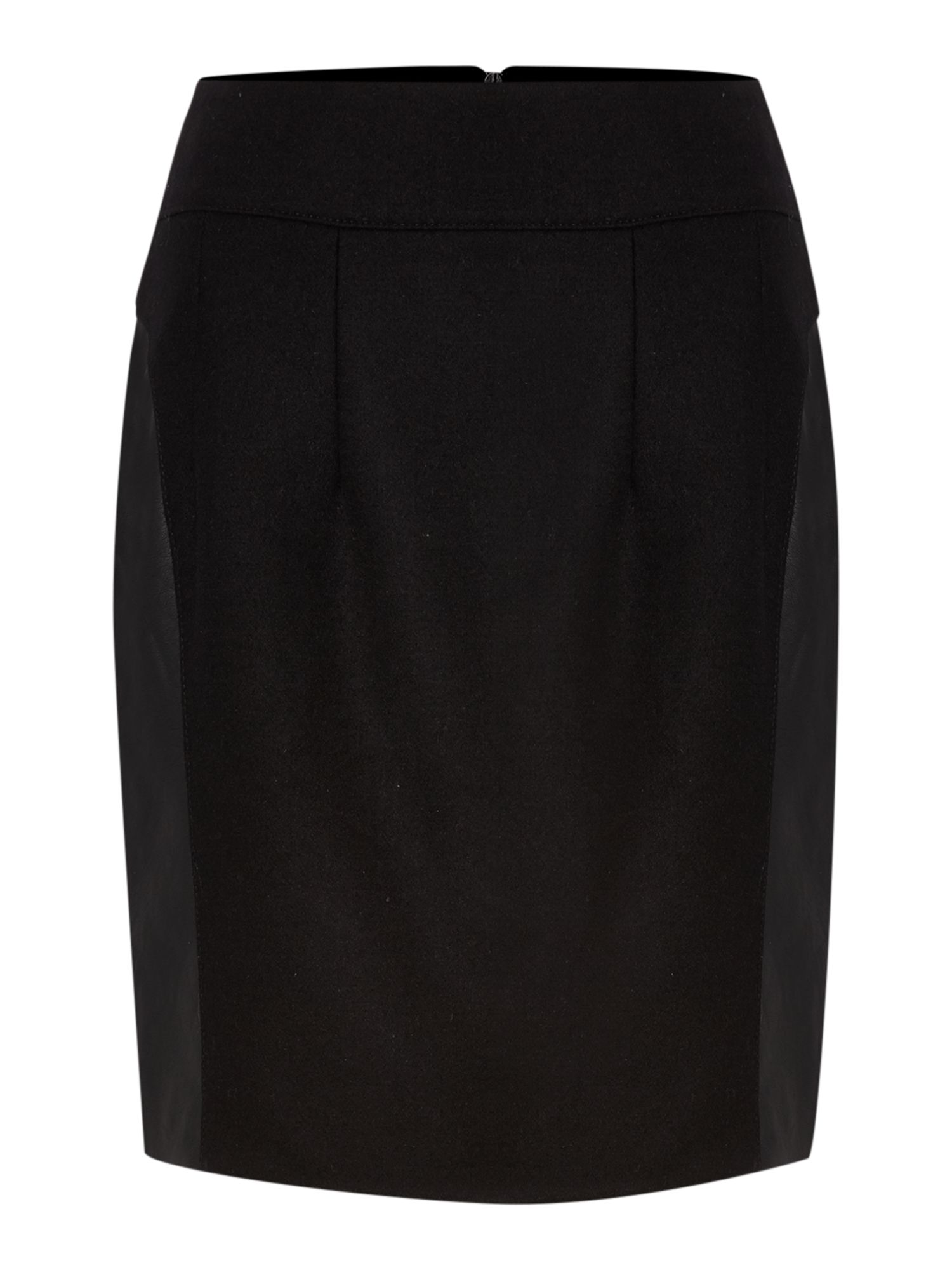 Pu wool panel skirt