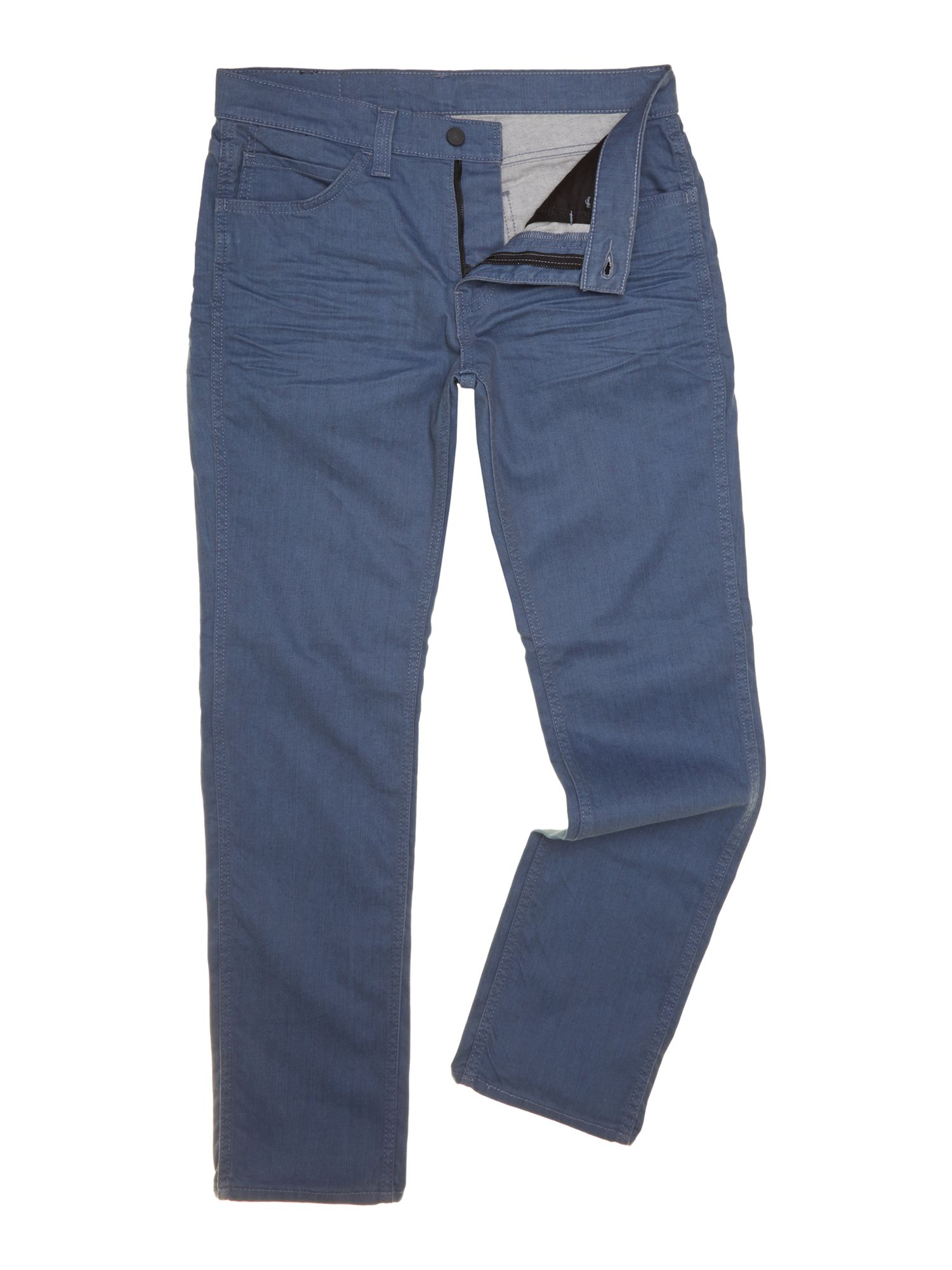 511 line 8 slim fit grey blue wash jeans