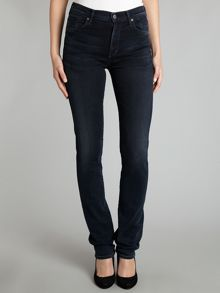 Arely high-rise skinny jeans in Seaweed