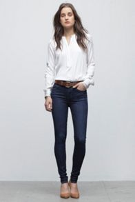 Rocket high-rise skinny jeans in Icon