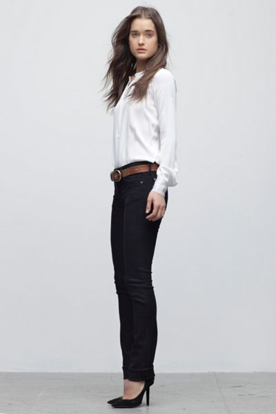 Citizens of Humanity Elson straight leg jeans in Freefall