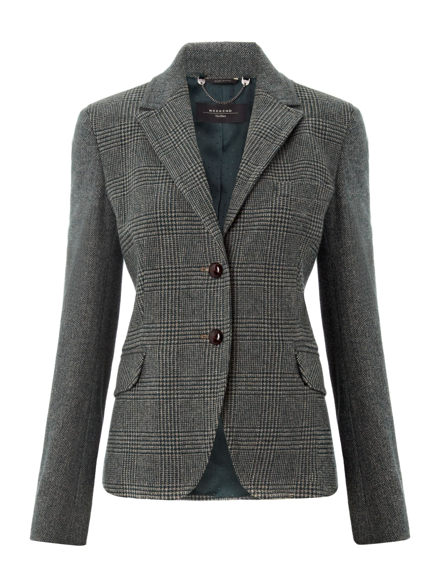 Utopico tweed jacket
