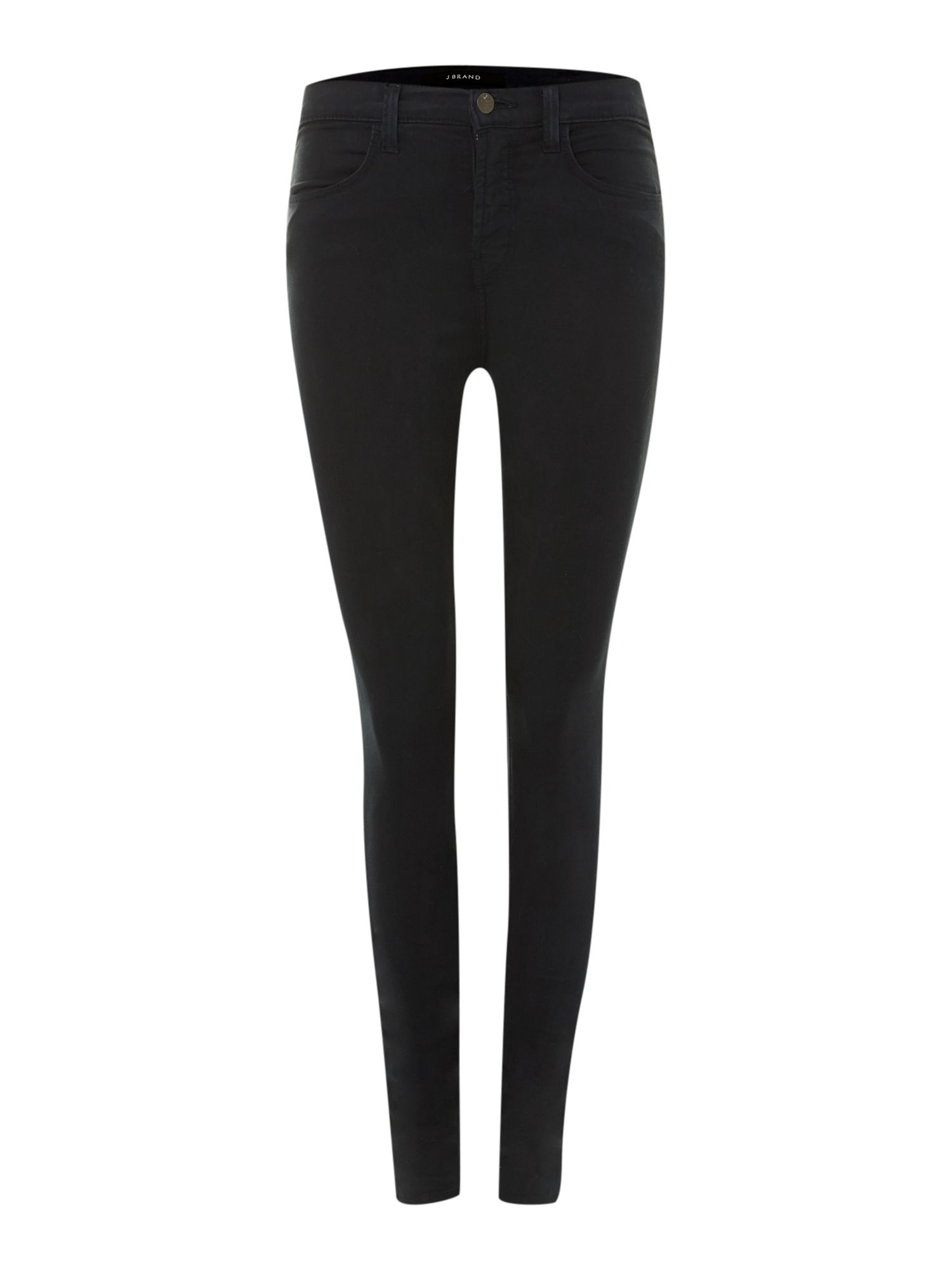 Maria high-rise skinny jeans in Carbon Blue