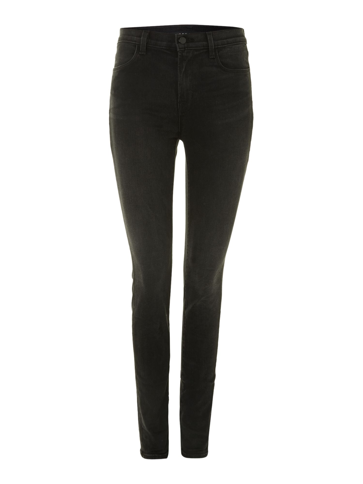 Maria high-rise skinny jeans in Graphite