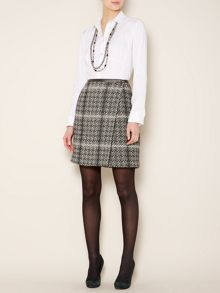 Tamaro knee length printed skirt
