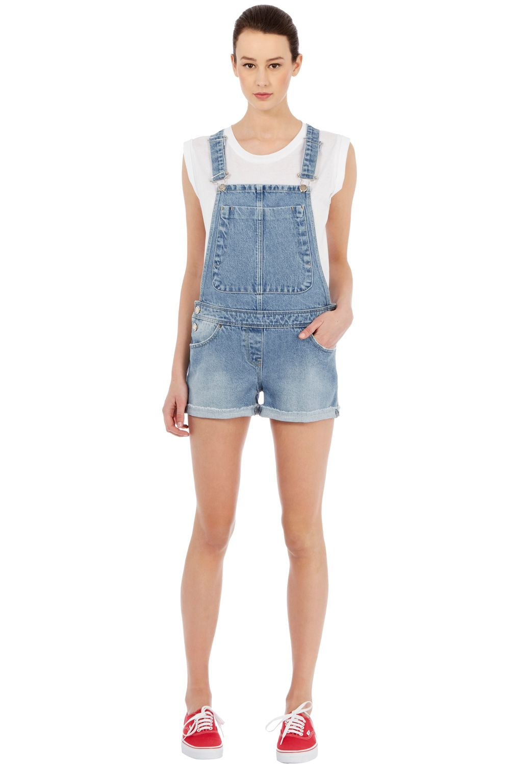 Shorts dungaree