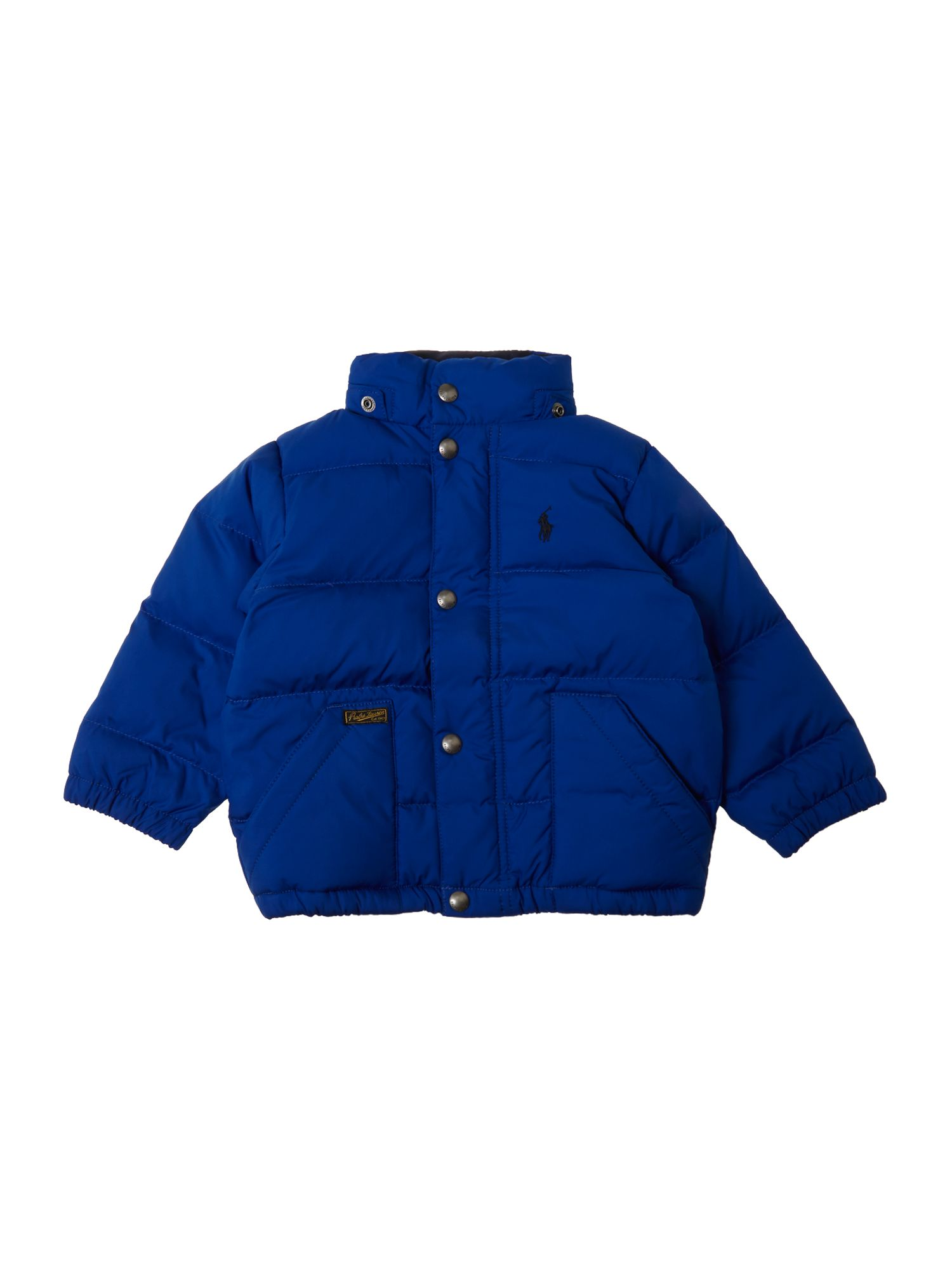 Boy`s padded jacket with removable hood