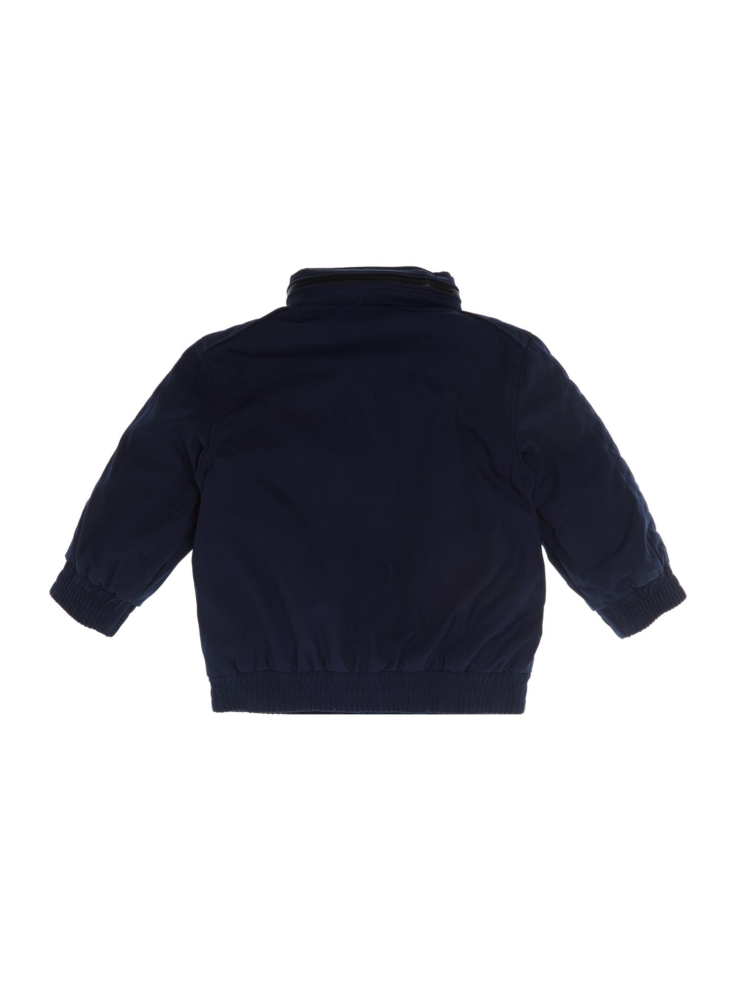Boy`s lightweight jacket with large pony logo
