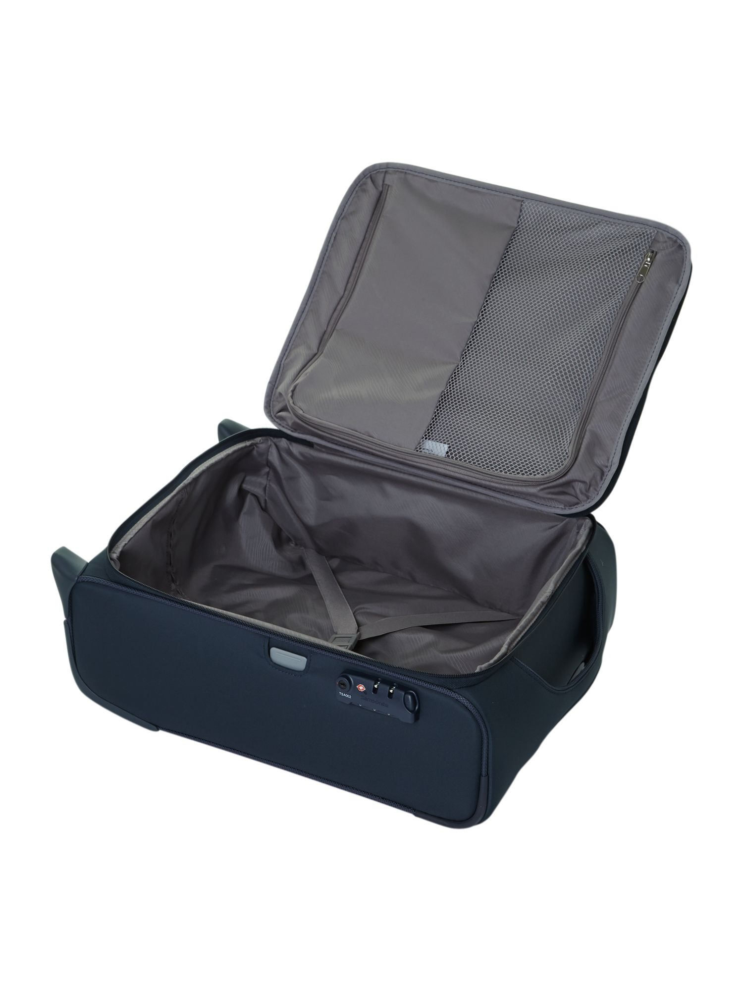 New B-Lite 2-wheel blue cabin suitcase