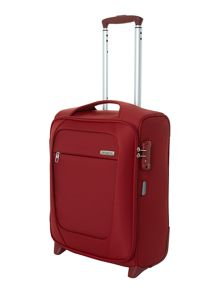 New B-Lite 2-wheel red cabin suitcase