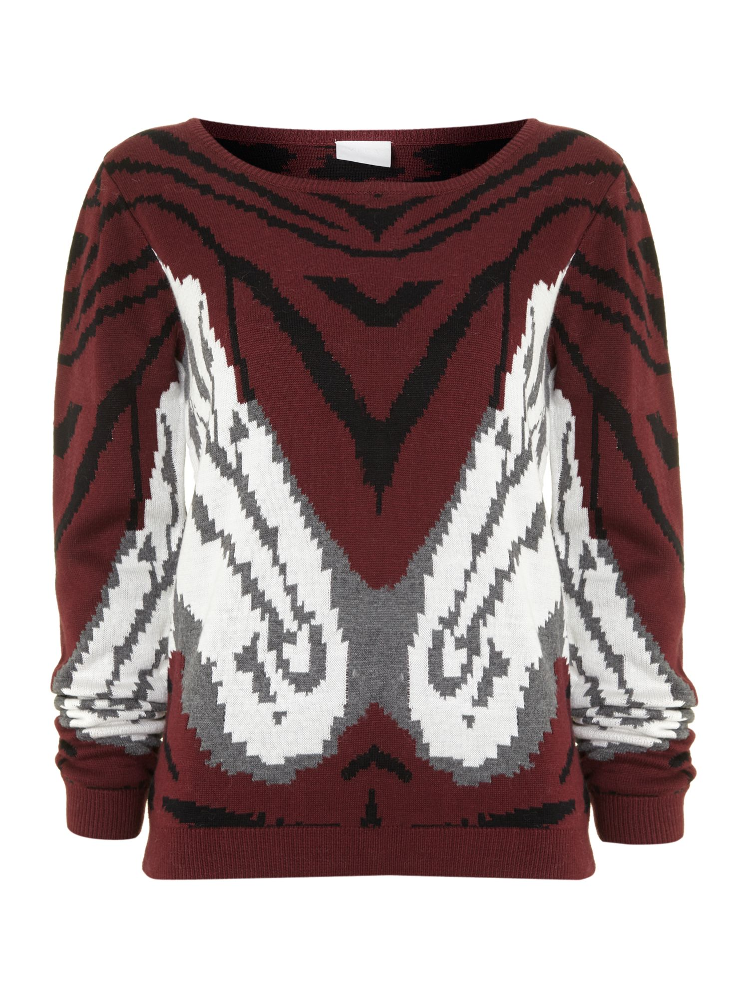 Nature printed jumper