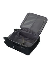 New B-Lite 4-wheel black cabin suitcase