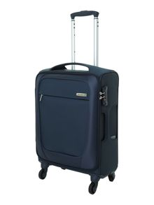 New B-Lite 4-wheel blue cabin suitcase