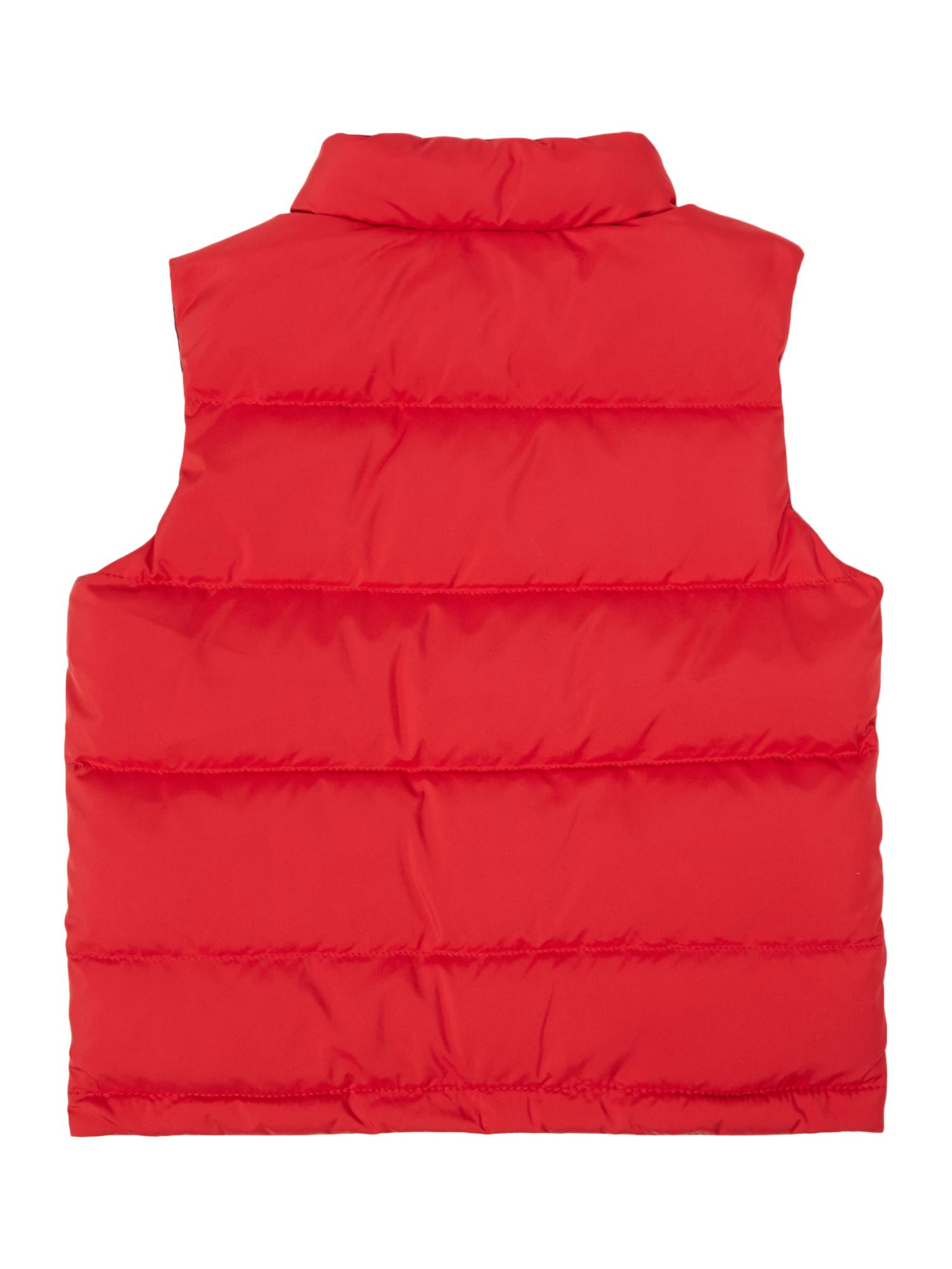 Boy`s reversible padded gilet